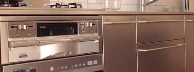 自宅でお料理教室を開くためのキッチン(オールステンレス)