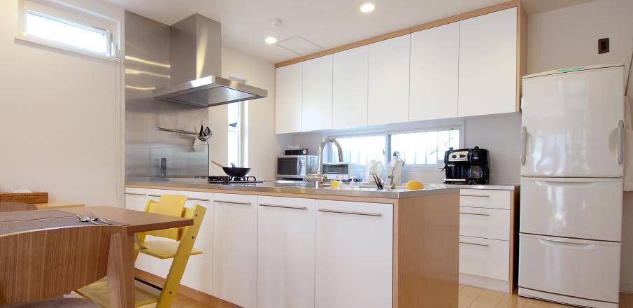 キッチン背面収納 実例2