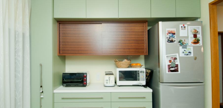 キッチン背面収納 実例3
